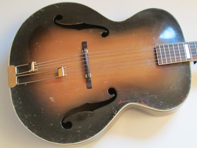 1939 Epiphone Broadway Masterbilt Sunburst, Good, Hard, Call For Price!