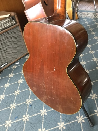 1940 Hager's Acoustic Guitar Tobacco Burst, Very Good