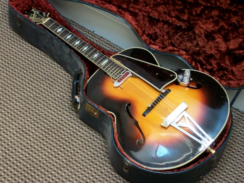 1940 Stromberg G-1 Sunburst, Excellent, Original Hard