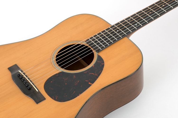 1941 C. F. Martin D-18 Natural, Near Mint, Original Hard, $28,500.00