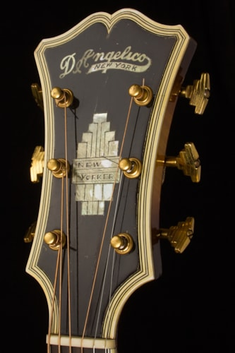 1941 D'Angelico New Yorker Sunburst, Excellent, Original Hard, Call For Price!