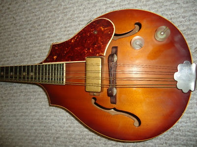 1943 1940's VEGA  Electric D-100 sunburst , Excellent, Original Hard, $1,150.00