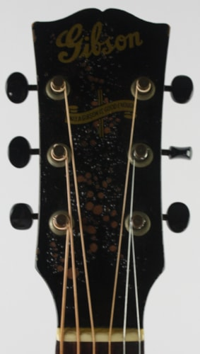 1943 Gibson LG-2 Banner Sunburst, Very Good, Hard, $4,499.00