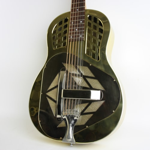1943 National Tricone Resonator Brass