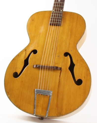 1943 Recording King Archtop Natural, Good, $399.00