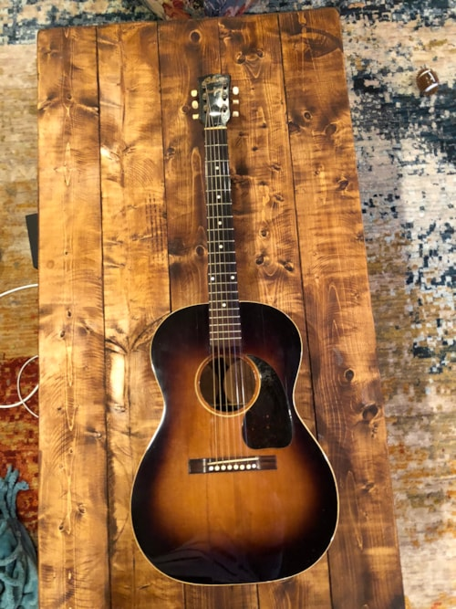1944 Gibson Lg 2 Burst Gt Guitars Acoustic Dying Breed Music