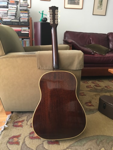 1944 Gibson SJ Sunburst, Near Mint, Original Hard, Call For Price!