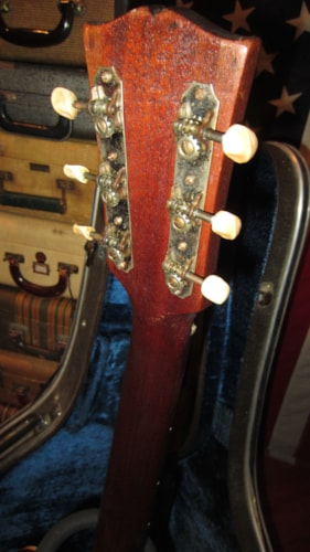 1945 Gibson LG-2 Small Bodied Acoustic Natural, Very Good, Hard, $2,195.00
