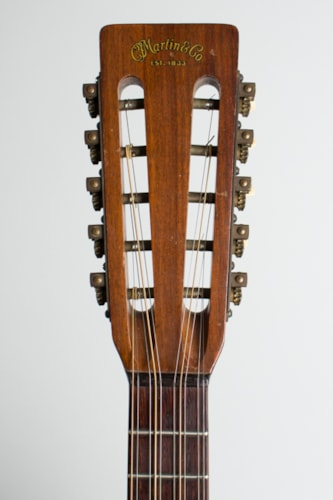 1946 C. F. Martin T-18 natural top, dark stained back and sides