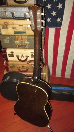 1946 Gibson LG-2 Small Bodied Acoustic Sunburst, Excellent, Original Hard, $3,499.00