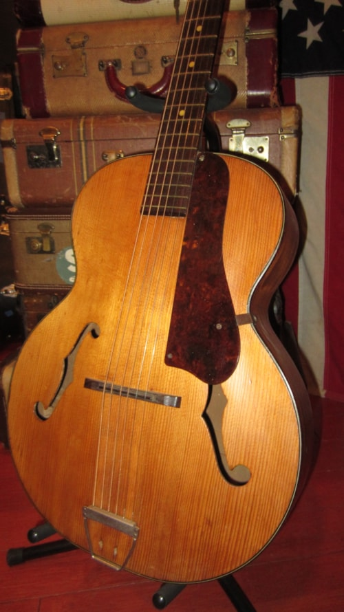 1946 Harmony Patrician Archtop Acoustic Natural Gt Guitars