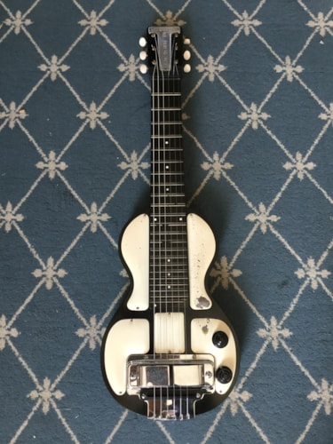 1946 Rickenbacker Electro Model B Lap Steel Panda, Very Good, Hard
