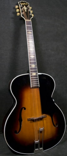 1947 Epiphone Triumph 54200 Sunburst, Fair, Original Hard