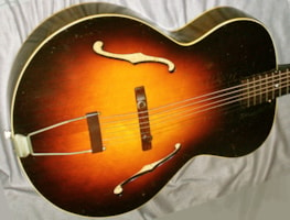 1947 Gibson L-50 war time - original and NO issues!