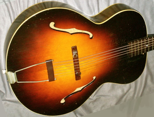 1947 Gibson L-50 war time - original and NO issues!  Sunburst, Very Good, Soft