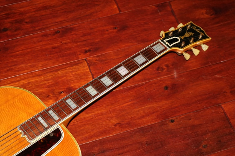 1948 Gibson L-5 N  Natural, Excellent, Hard, $9,995.00