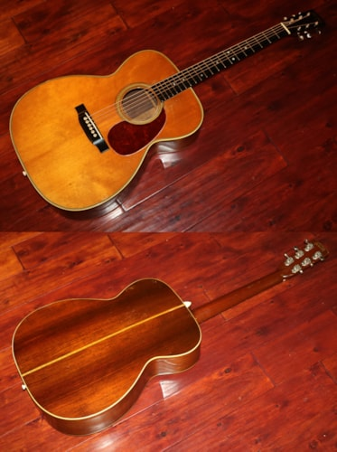1948 Martin  000-28  Natural Top, Excellent, Original Hard