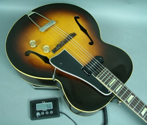 1949 Gibson ES-150 RARE Vintage Archtop Guitar Original Sunburst Finish Vintage Sunburst, Very Good, Hard, $2,995.00