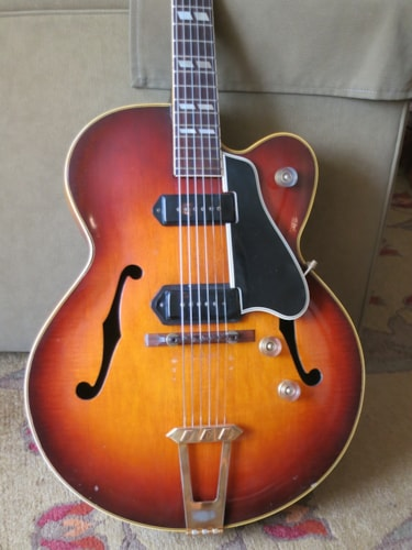 1949 Gibson ES-350 Sunburst, Excellent, Hard