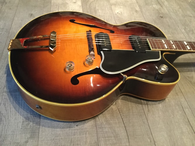1949 Gibson ES-350 Sunburst, Near Mint, Original Hard, $6,500.00