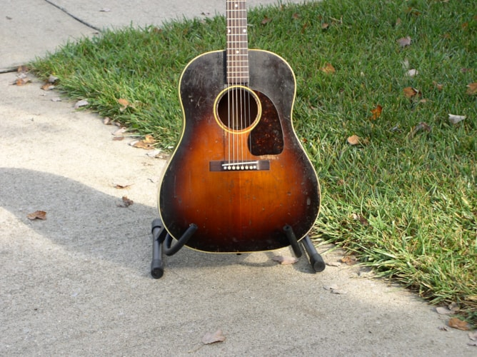 1949 Gibson J-45 Very Good, Hard, $4,950.00