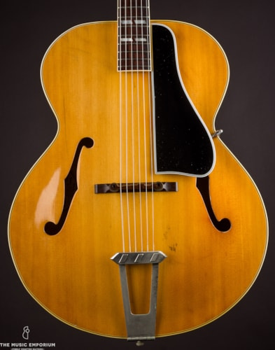 1949 Gibson L-7N  Natural, Excellent, Hard, $5,000.00