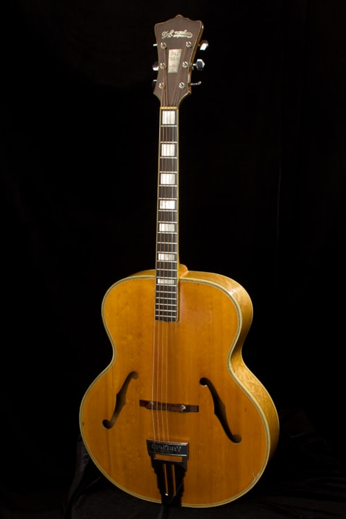 Who Accepts Amex >> 1950 D'Angelico Mel Bay Blonde > Guitars Archtop Electric ...