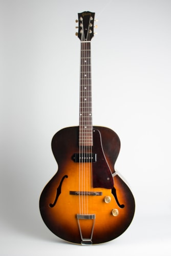 1950 Gibson ES-125 sunburst top, dark back and sides Excellent Original Hard $2,600.00