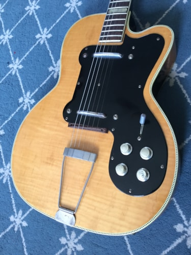 1950 Kay Thin Twin Jimmy Reed Electric Guitar Natural, Excellent