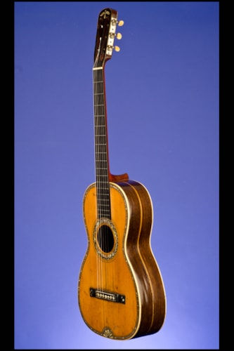 1950 Markneukirchen Martin-Style, Parlor Guitar (12 fret to body) Mahogany, Excellent, Hard