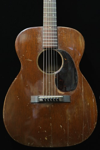 1950 Martin 00-17 Natural, Good, Hard, Call For Price!