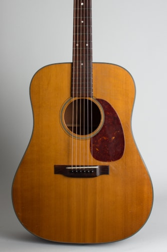 1951 C. F. Martin D-18 natural lacquer