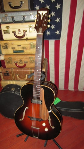 1951 Epiphone Century Sunburst, Excellent, Soft