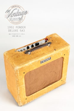 1951 Fender Deluxe 5A3