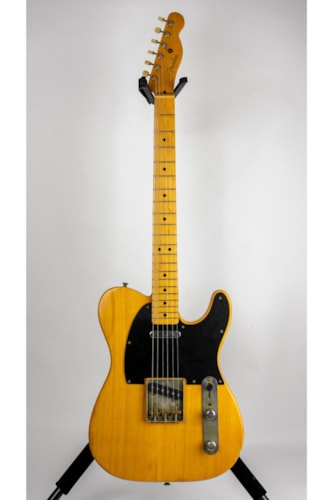 1951 Fender Telecaster Electric Guitar (Pre-Owned) (Glen Quan Private Collection)