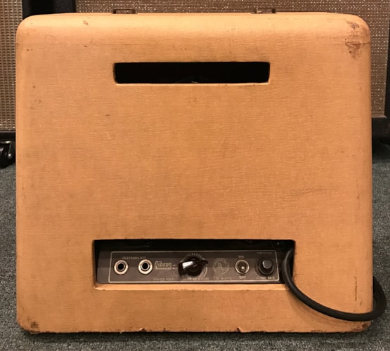 1951  GIBSON  BR - 9 Electric Hawaiian Guitar And Amplifier  Beige with Cremona brown, Very Good