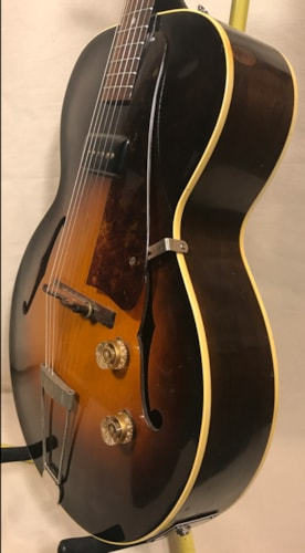 1951 Gibson ES-125 Sunburst, Very Good, Original Hard