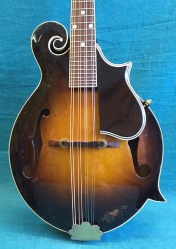 1951 Gibson F-12 Mandolin Tobacco Sunburst, Very Good, Original Hard