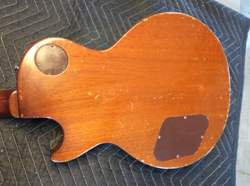 1952-1957 Gibson Les Paul Goldtop PAF Conversion