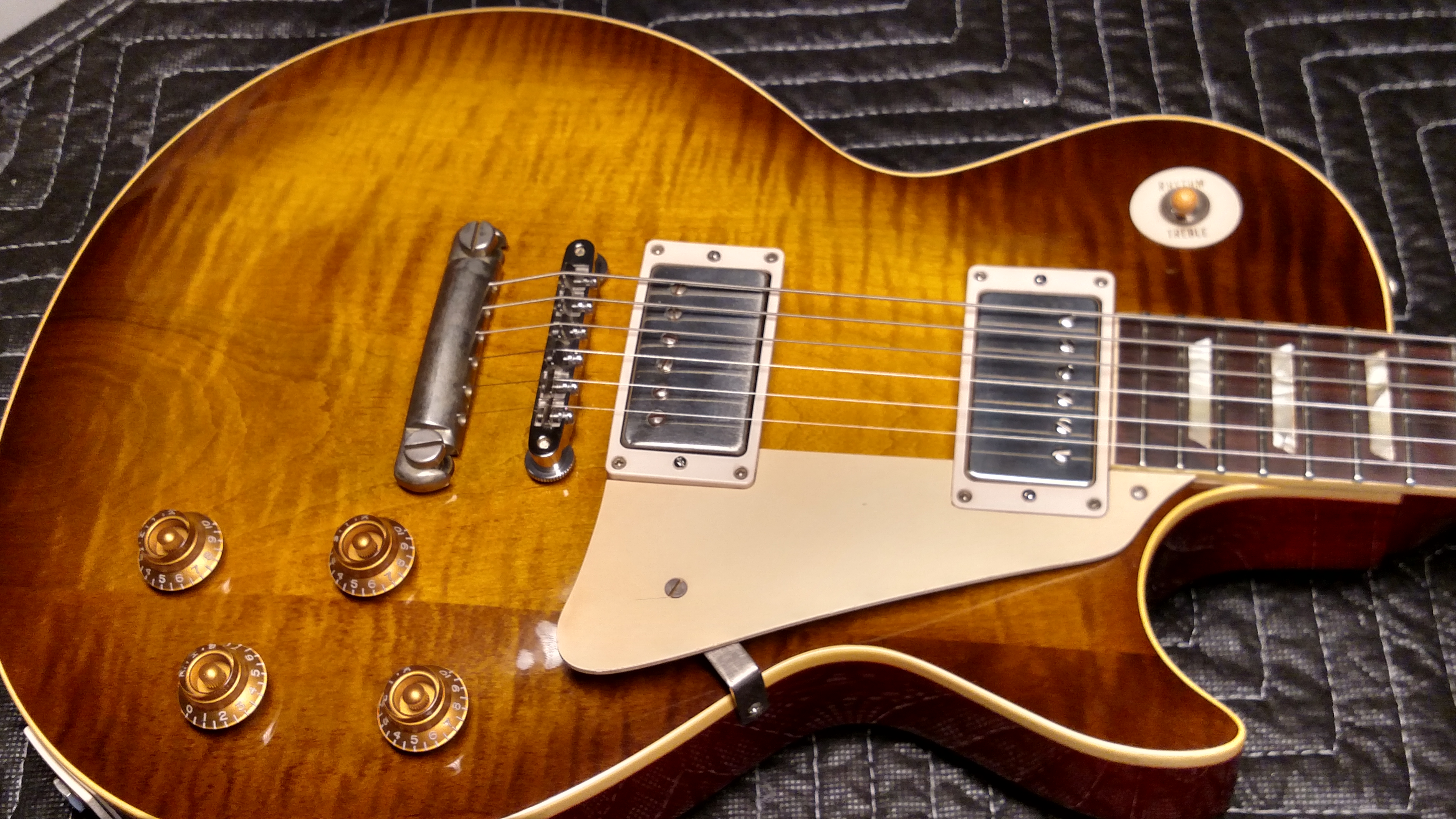 1952 1959 Gibson Les Paul Conversion Guitars Electric Semi Guitar Tone Capacitors Also Wiring Further Hollow Body Jamcity