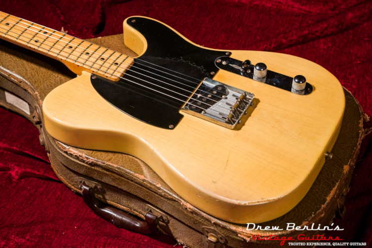 1952 Fender® Esquire Butterscotch, Good, Original Hard, $42,000.00