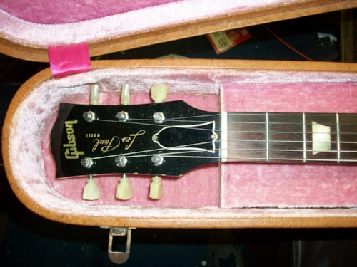 1952 Gibson Les Paul earliest version Gold top, Near Mint, Original Hard, Call For Price!