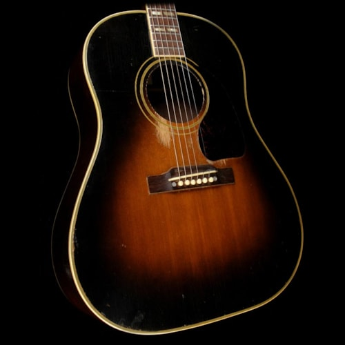 1952 Gibson Used 1952 Gibson Southern Jumbo Acoustic Guitar Sunburst Excellent, $5,399.00