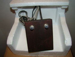 ~1954 Danelectro/Silvertone Two Button Footswitch (wooden)