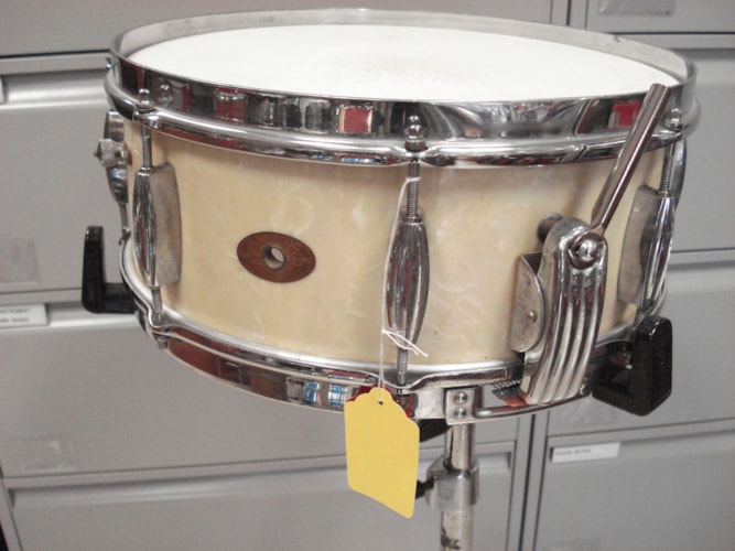 1952 Slingerland Radio King  White Marine Pearl, Near Mint