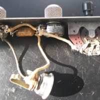 1953 Fender Telecaster complete control plate