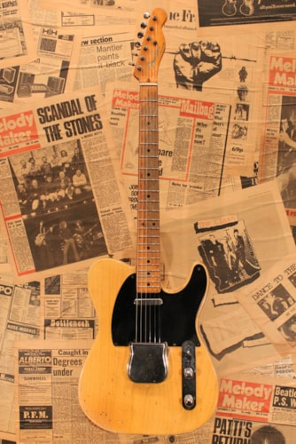 "1953 Fender Telecaster ""The Black Guard"""