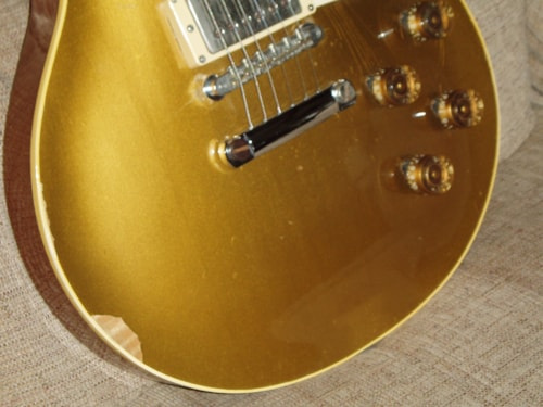 1953 Gibson Les Paul Standard goldtop, Excellent, Hard, Call For Price!