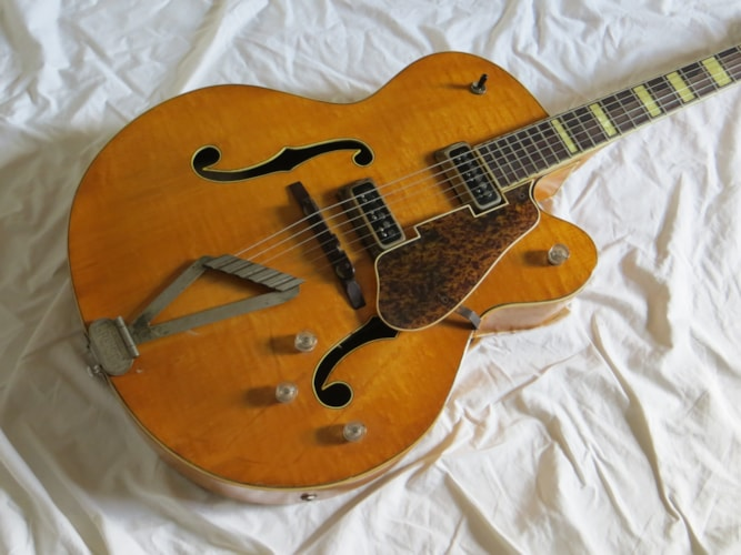 1953 Gretsch Syncromatic Natural, Very Good, Hard, Call For Price!