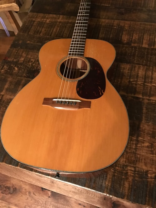 1953 martin 000 18 adirondack top guitars acoustic dying breed music. Black Bedroom Furniture Sets. Home Design Ideas
